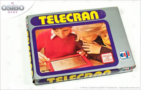 Le Télécran dans sa boîte d'origine