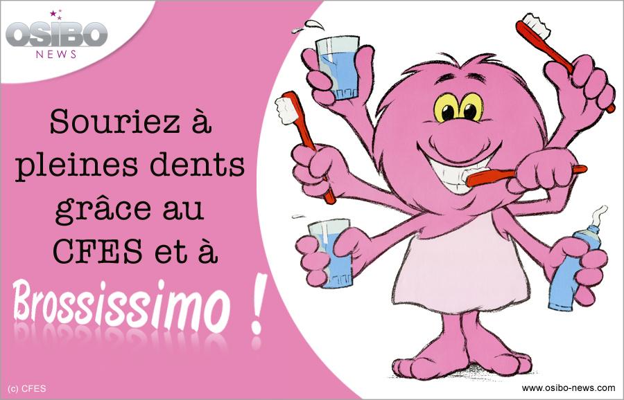 Bien-aimé Souriez à pleines dents grâce au CFES et à Brossissimo ! PC29
