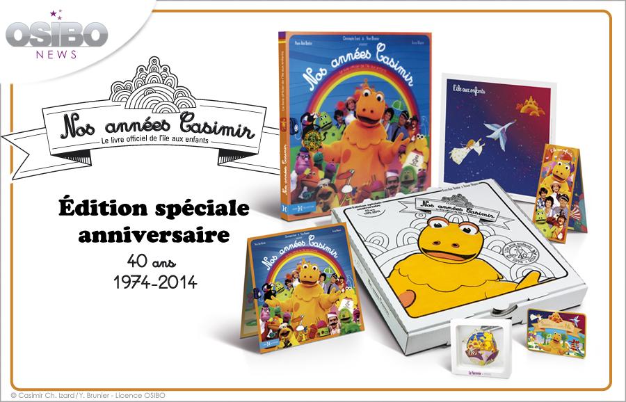 Nos Annees Casimir Une Edition Limitee A 500 Exemplaires Pour Les 40 Ans